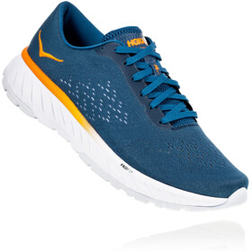 Hoka One One Cavu 2 Zapatillas running Hombre, corsair blue/bright marigold